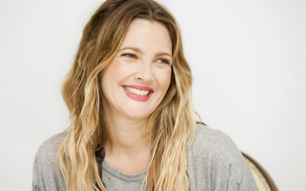 drew barrymore smile wallpapers