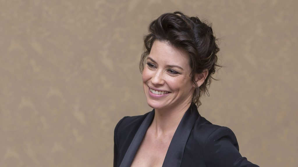 evangeline lilly smile widescreen wallpapers
