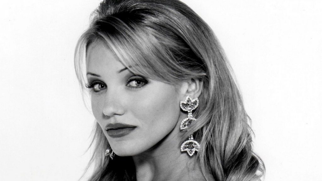monochrome cameron diaz wallpapers