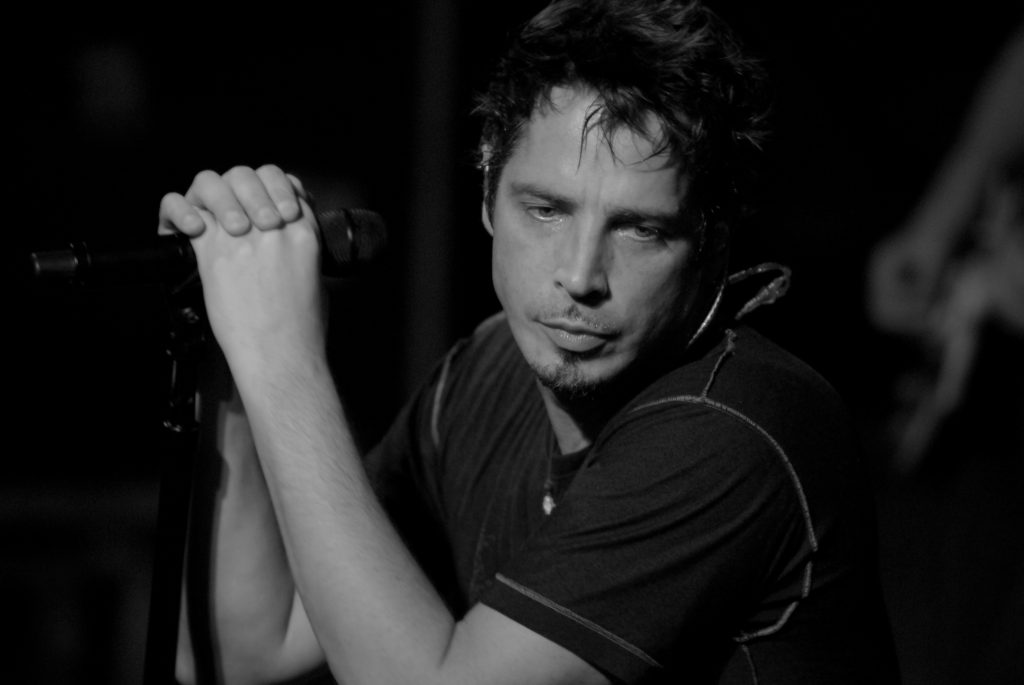 monochrome chris cornell widescreen wallpapers