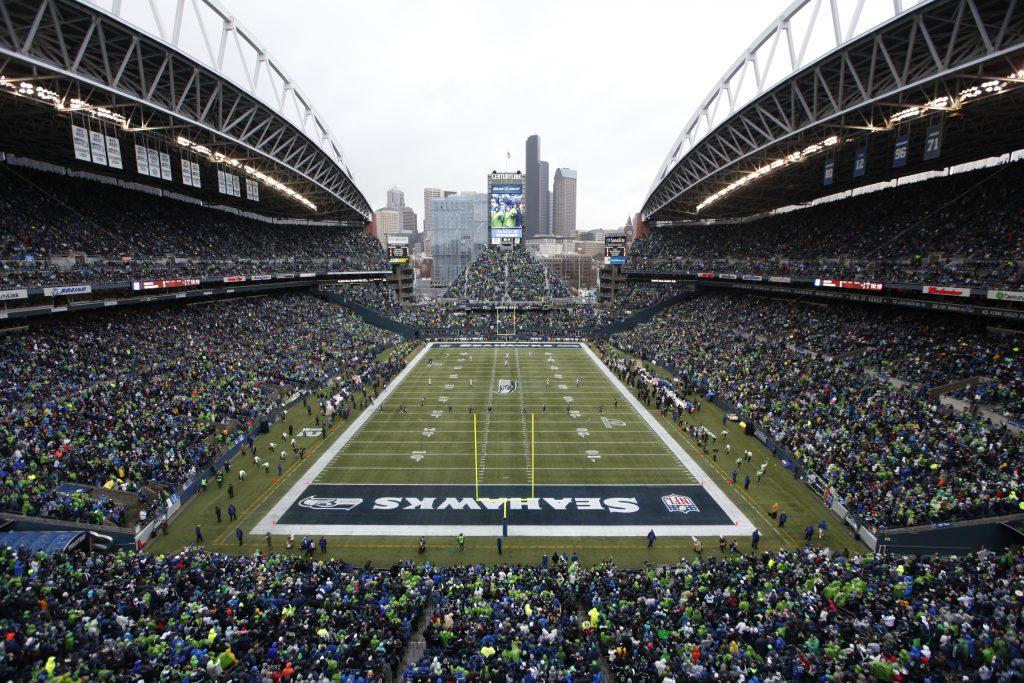 seattle seahawks stadium widescreen wallpapers