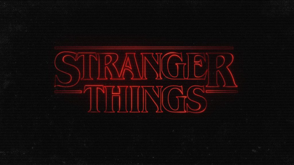 stranger things logo wallpapers