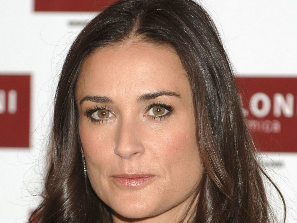demi moore face wallpapers