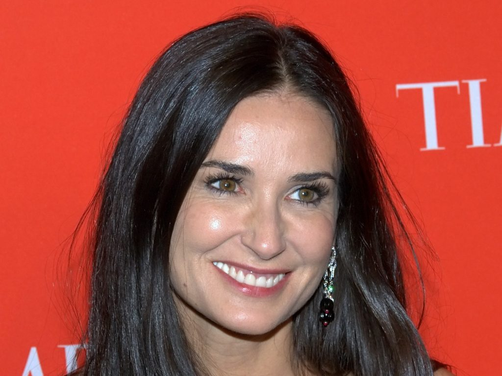 demi moore smile pictures wallpapers