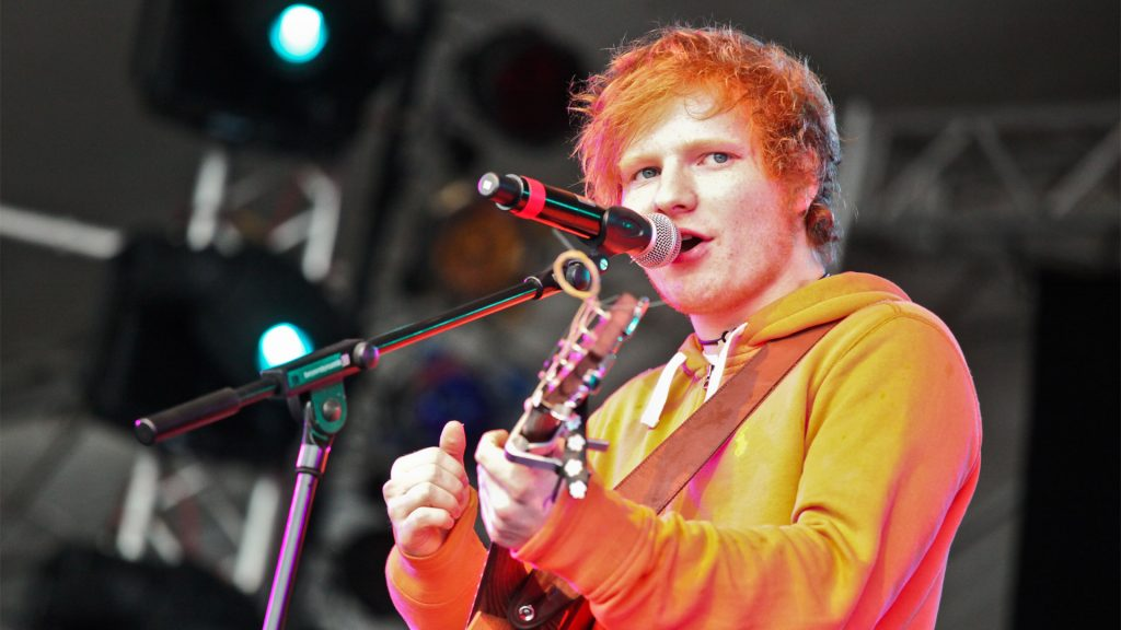 ed sheeran performing wallpapers