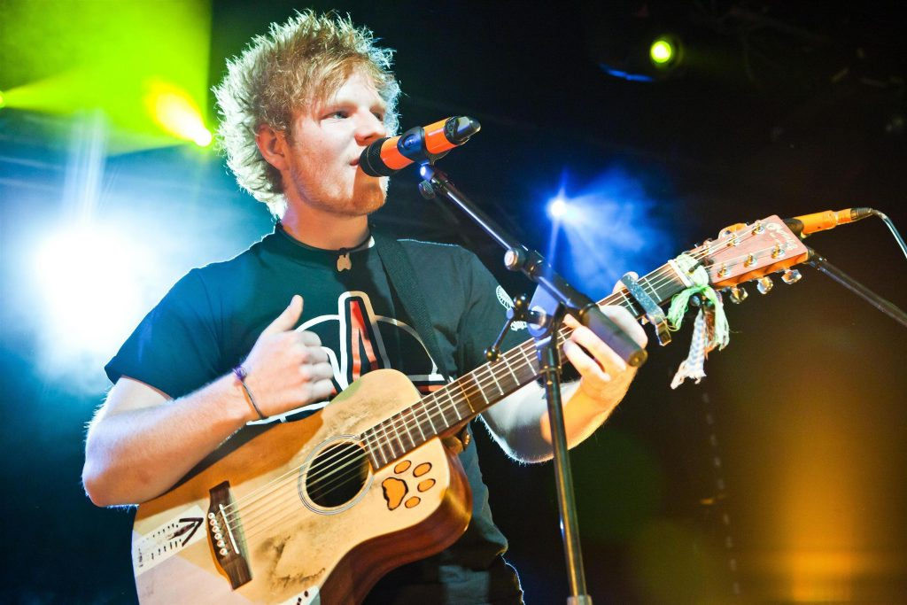 ed sheeran widescreen wallpapers