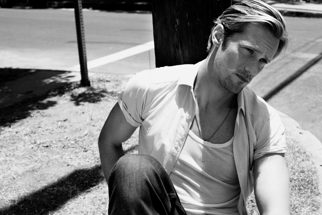 monochrome alexander skarsgard wallpapers