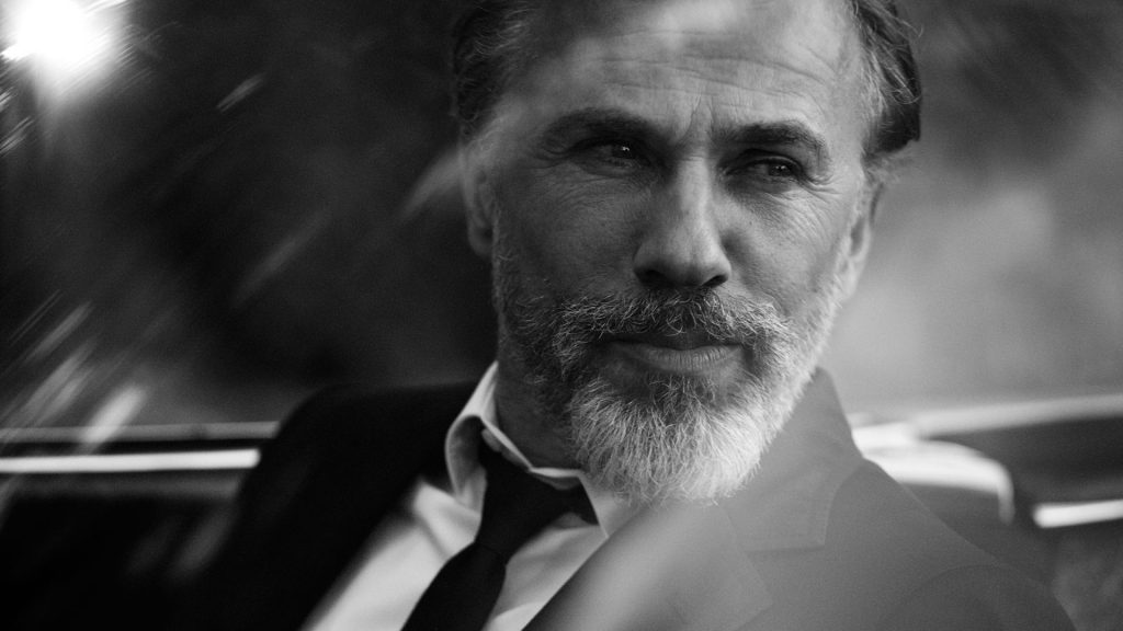 monochrome christoph waltz wallpapers