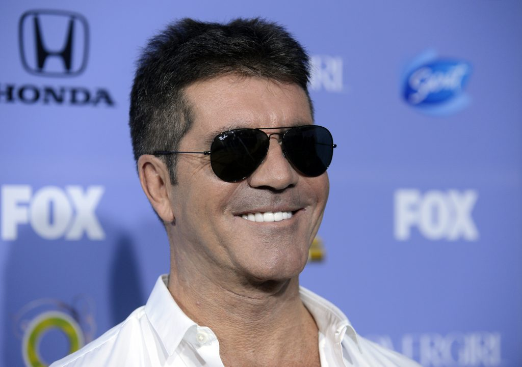simon cowell smile background wallpapers