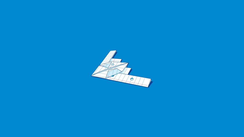 b2 paper airplane wallpapers