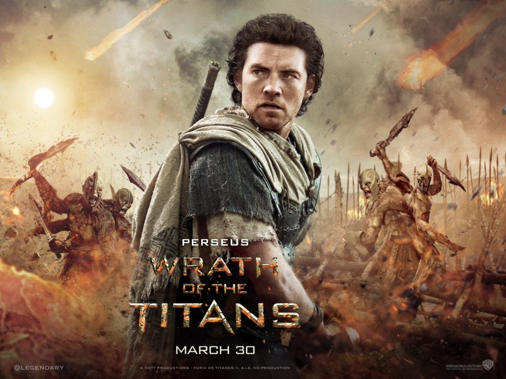 wrath of the titans movie perseus wallpapers
