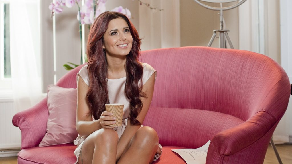 beautiful cheryl cole smile wallpapers