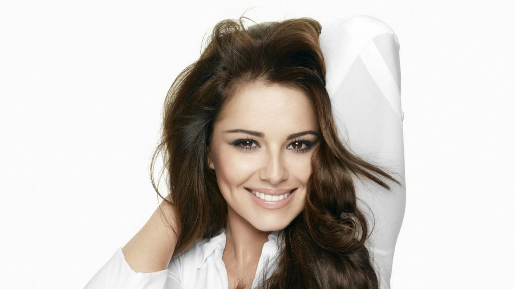 cheryl cole smile wallpapers