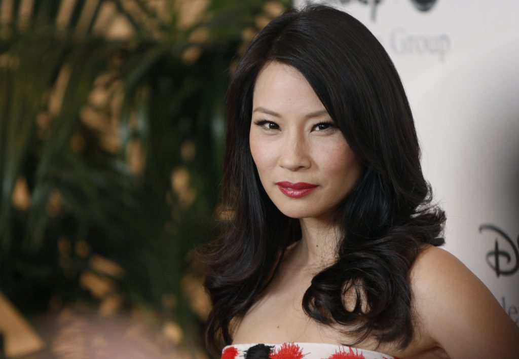 lucy liu celebrity wide wallpapers