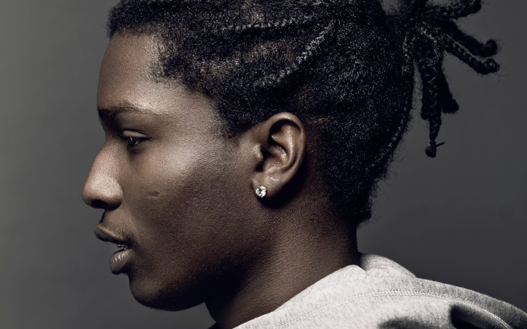 asap rocky face wallpapers