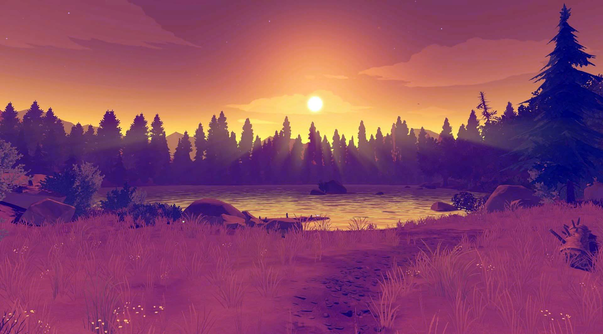 Fun In The World Of Games Hd Wallpapers: 23 HD Firewatch Game Wallpapers