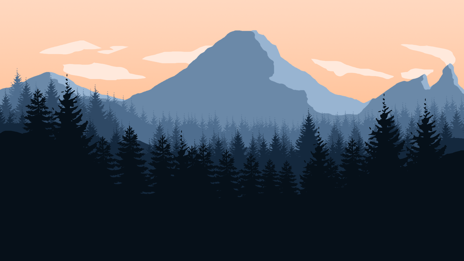 Background Wallpaper: 23 HD Firewatch Game Wallpapers
