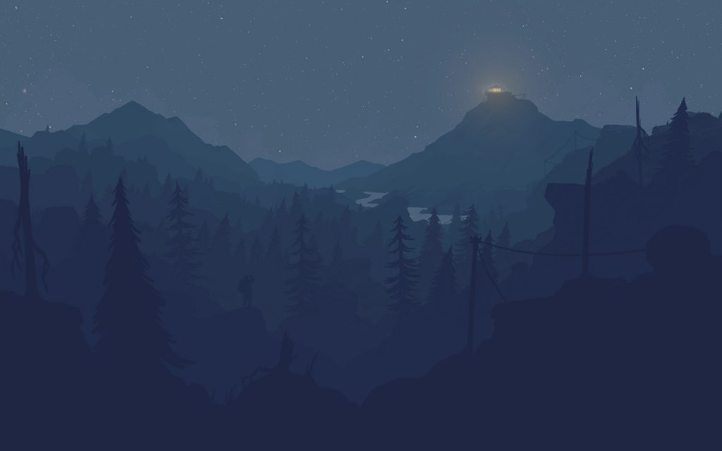 firewatch background wallpapers