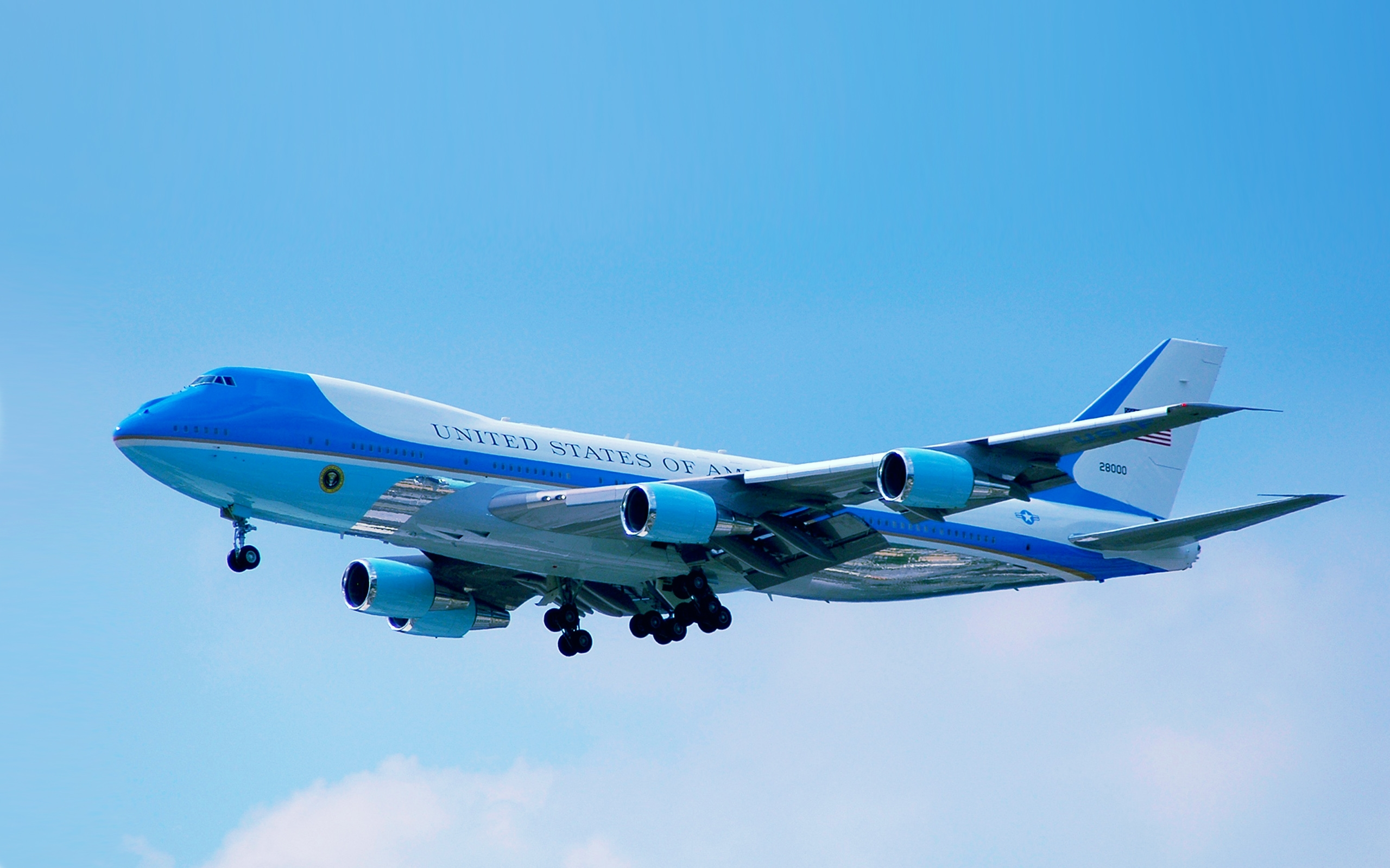 7 HD Air Force One Wallpapers