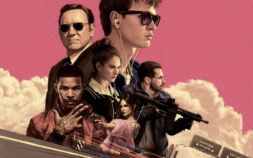 Baby Driver Movie Wallpapers