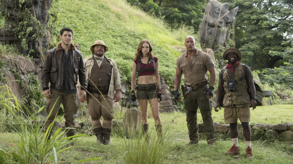 Jumanji Welcome to the Jungle Movie Wallpapers