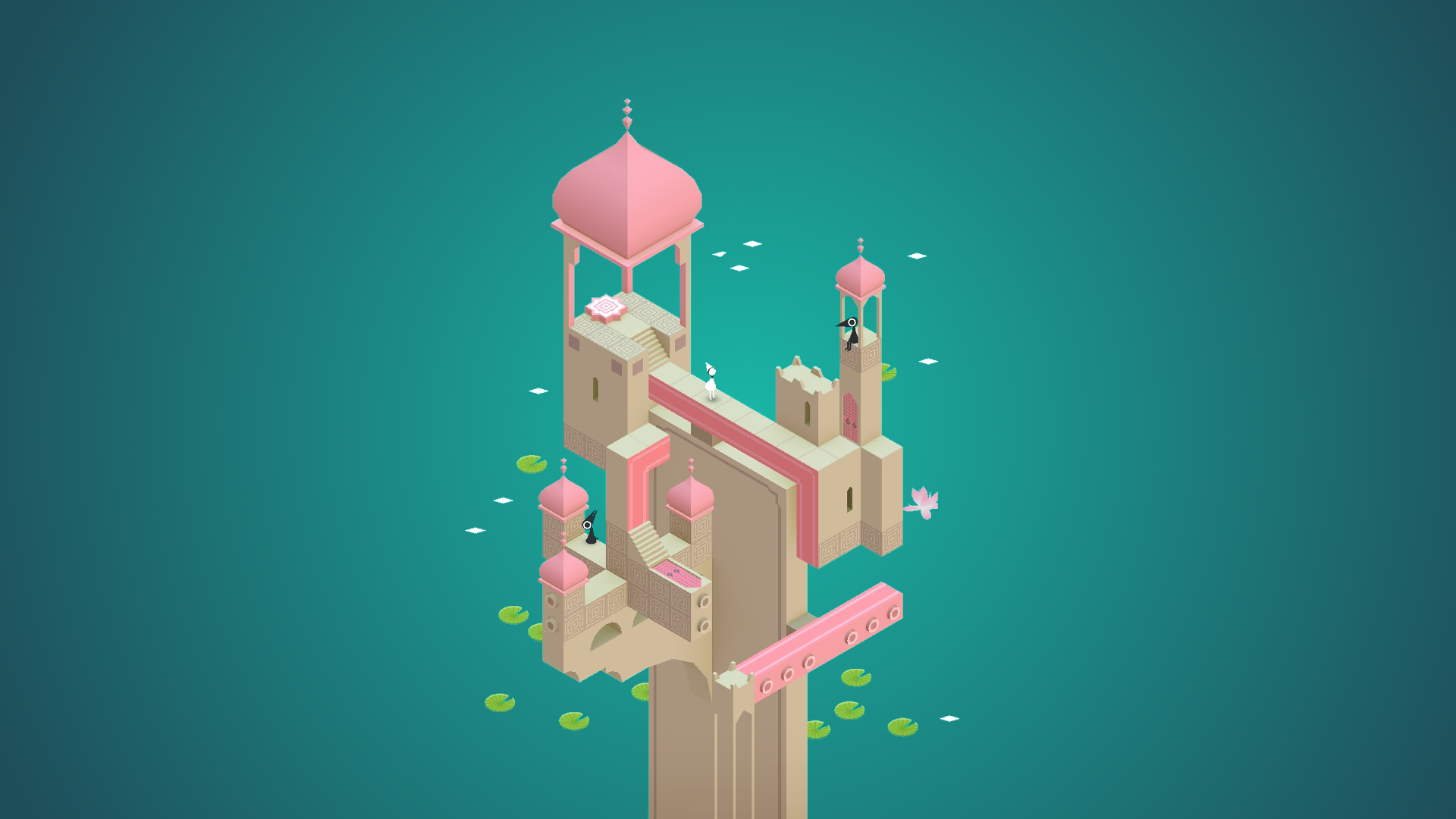 5 Hd Monument Valley Game Wallpapers