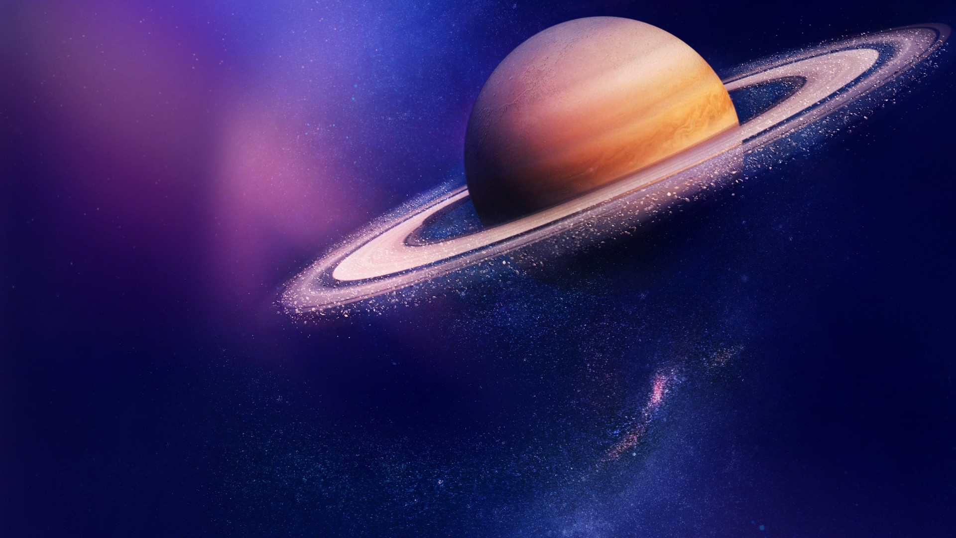 10 Hd Saturn Planet Wallpapers