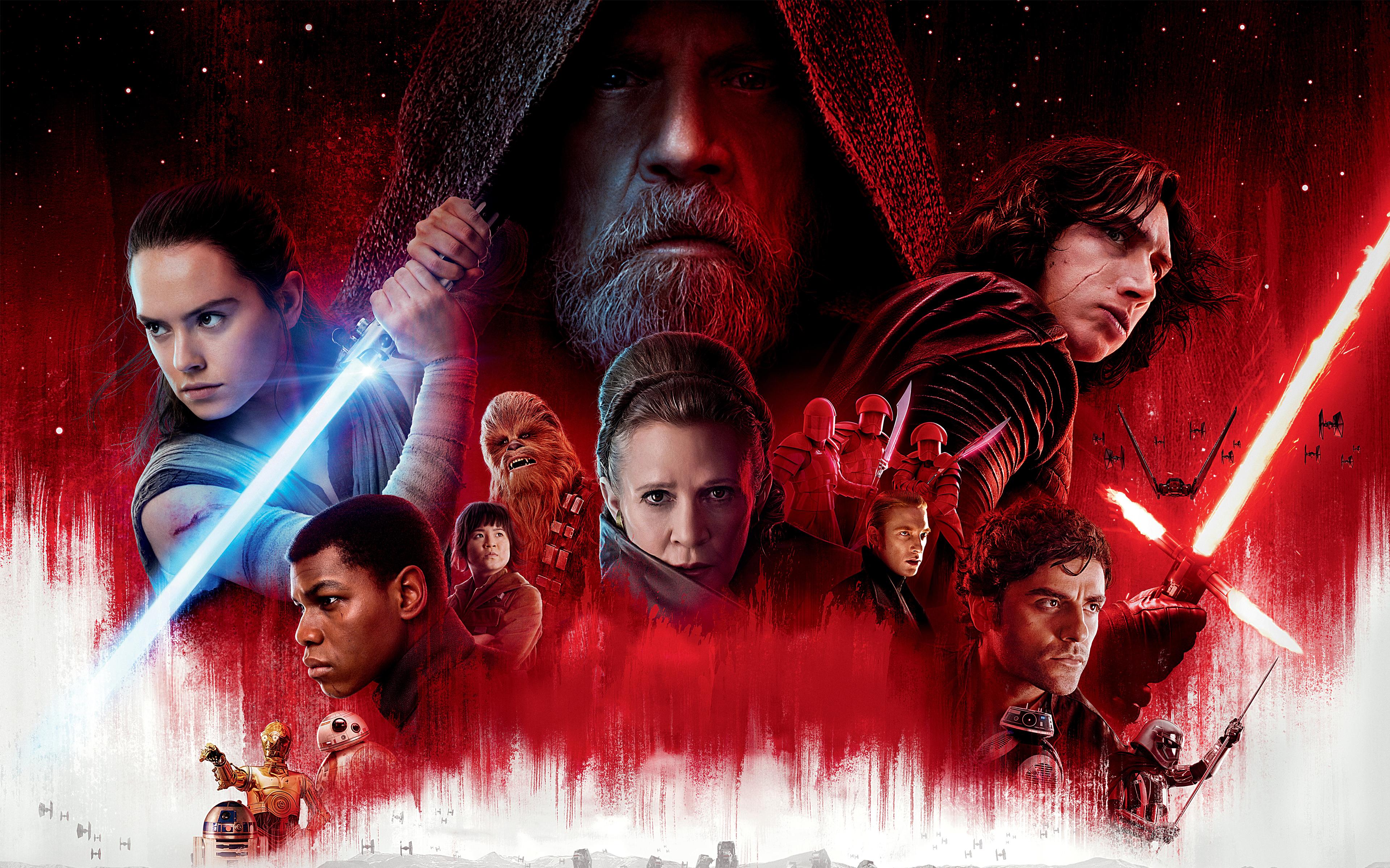 10 HD Star Wars The Last Jedi Wallpapers