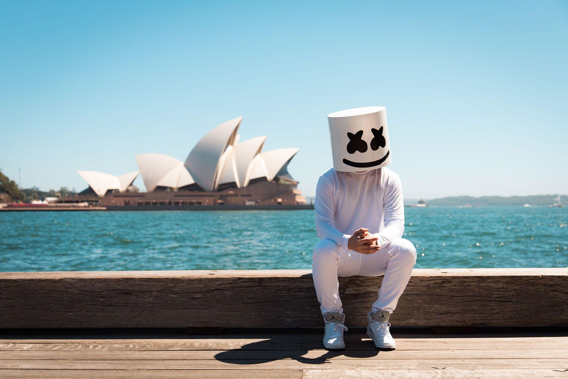 7 Hd Marshmello Wallpapers