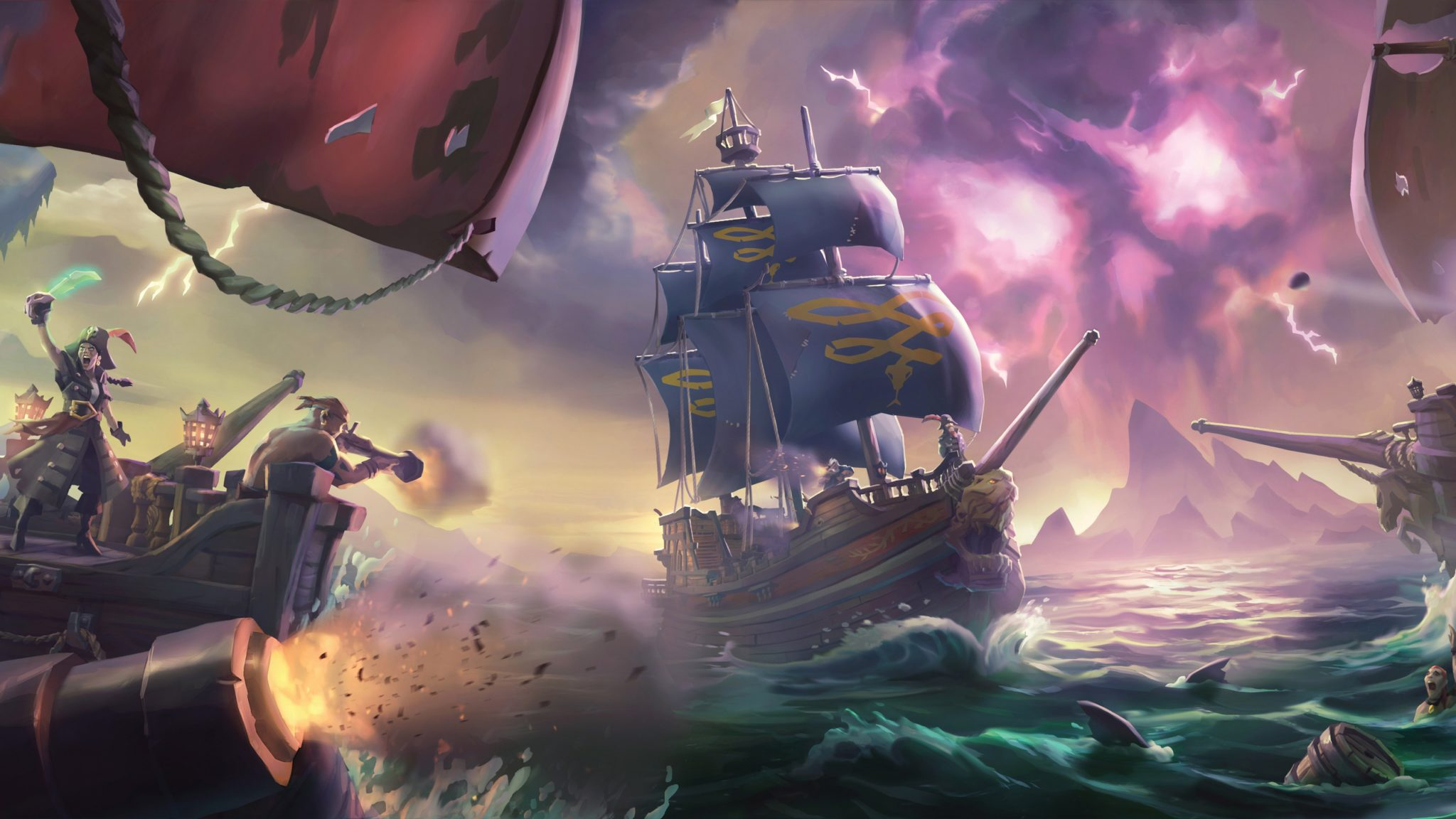 13 Hd Sea Of Thieves Wallpapers