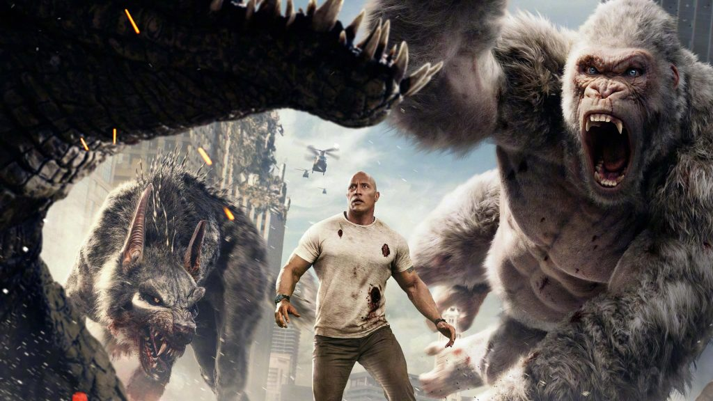 Rampage Movie Wallpapers