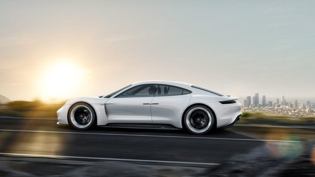 Porsche Mission E Car