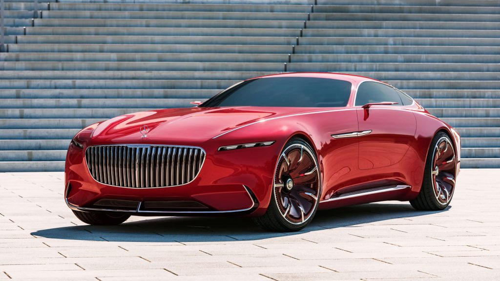 Vision Mercedes Maybach Car
