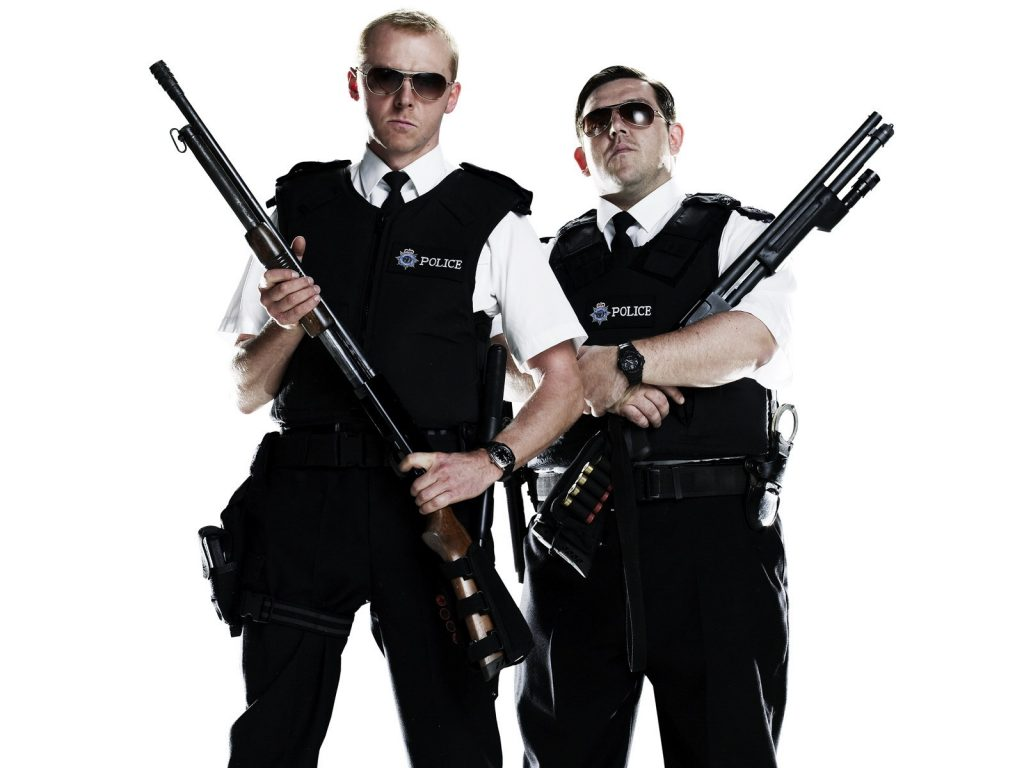 Hot Fuzz Movie Wallpapers